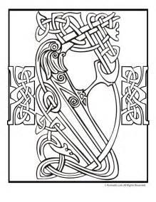 celtic cross coloring pages az coloring pages
