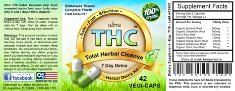 Marijuana Detox Kits Do They Work by Ultra Thc Detox Pills Do They Really Work