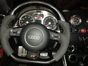 Steering Wheel Conversion Uk Steering Wheel On My Audi Tt Flat Bottom Mk2 Fitted