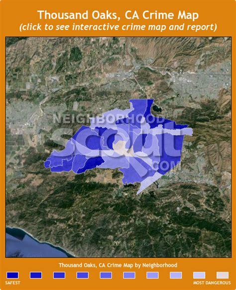 maps thousand oaks thousand oaks crime rates and statistics neighborhoodscout
