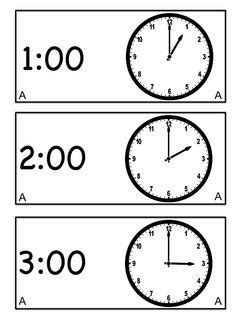 printable clock puzzle 10 freebie telling time half hour worksheets
