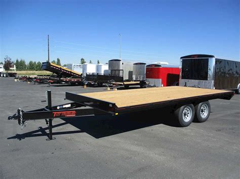 flat bed trailers 2016 tnt flatbed trailer for sale rigby id 8766503 mylittlesalesman com