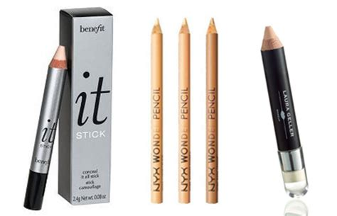 Concealer Pencil makeup tips and tricks on how to use different types of