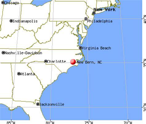 new bern carolina map new bern carolina nc 28560 profile population