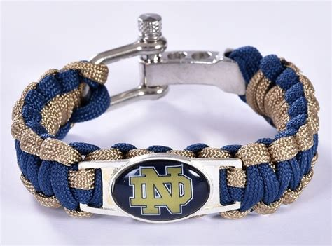notre dame fan shop notre dame fighting irish college fan shop unisex paracord