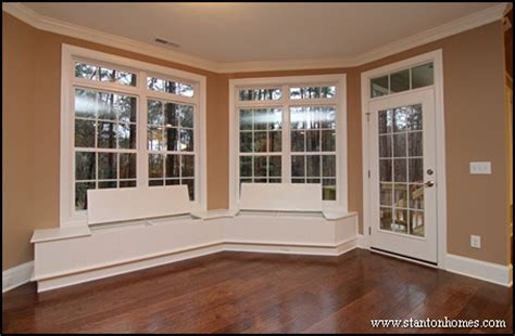bench in front of window window benches with storage chapel hill custom homes