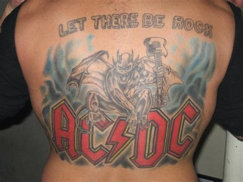 dc tattoos gallery for ac dc tattoos