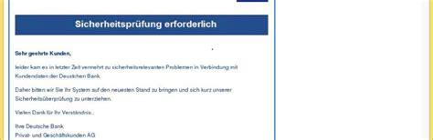 deutsche bank email deutsche bank vorsicht e mail