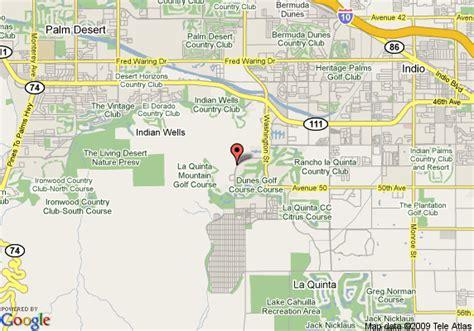 california map la quinta map of legacy villas at la quinta resort la quinta