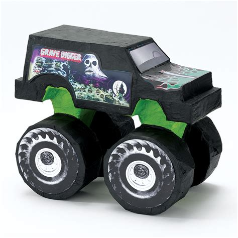 3d monster truck monster jam truck pinata this party started