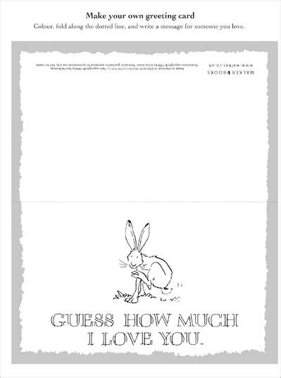 Guess How Much I Love You Greetings Card - Scholastic Shop
