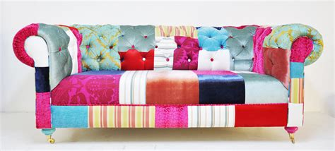 Patchwork Chesterfield - reserved listing for rosie chesterfield patchwork sofa