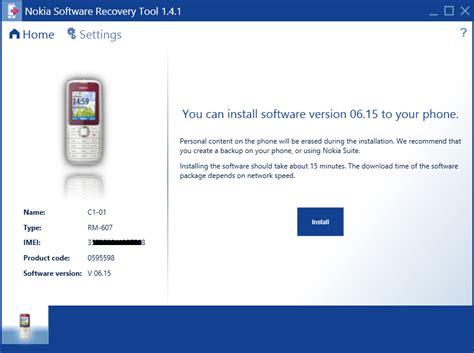 nokia reset software pc reinstall software on nokia phones using nokia software