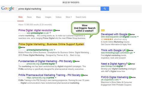 Search By Name Only Quot Brand Name Quot Only Top 10 Search Result Prime Digital Marketing