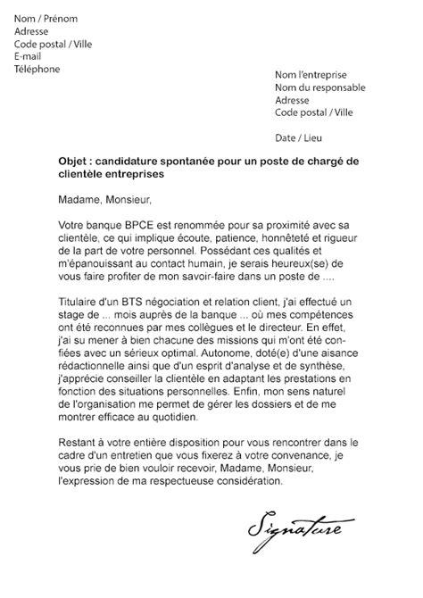 Lettre De Motivation Pour La Banque Postale lettre de motivation bpce banque populaire caisse d epargne