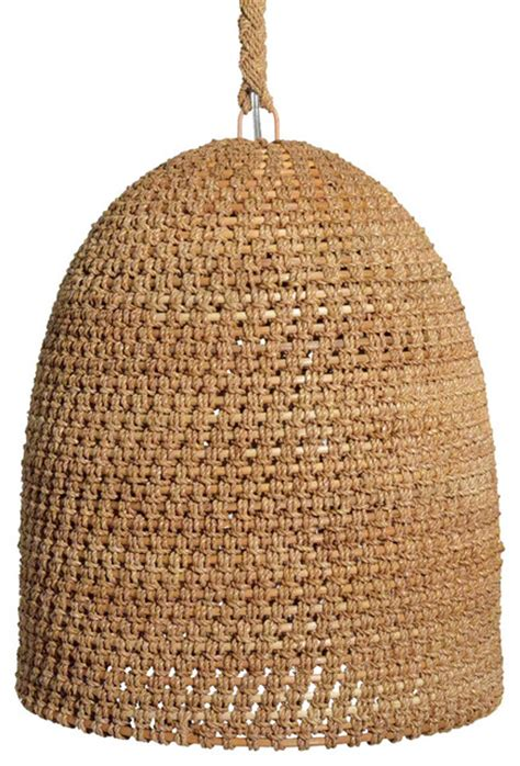 Rattan Dining Room Furniture Lileas Coastal Beach Rattan Woven Pendant Amp Reviews