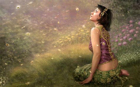 Hot Girl Wallpaper Wallpapers Backgrounds Images Art | fantasy girl spring wallpapers fantasy girl spring