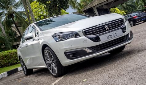 peugeot malaysia peugeot 508 facelift launched in malaysia priced from