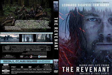 the revenant dvd cover label 2015 r1 custom