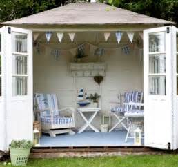shed decorating ideas turning a garden shed into a nautical seaside escape