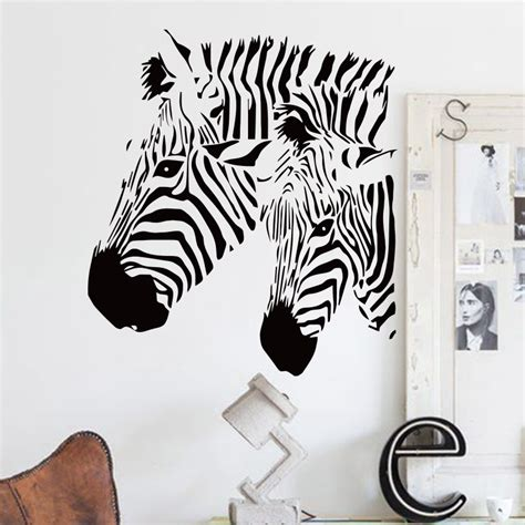cheap home wall decor design cheap home decor vinyl beautiful zebra wall