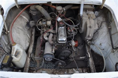 renault caravelle engine french barn find 1963 renault caravelle