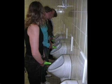 girls in public bathroom urinal women videolike