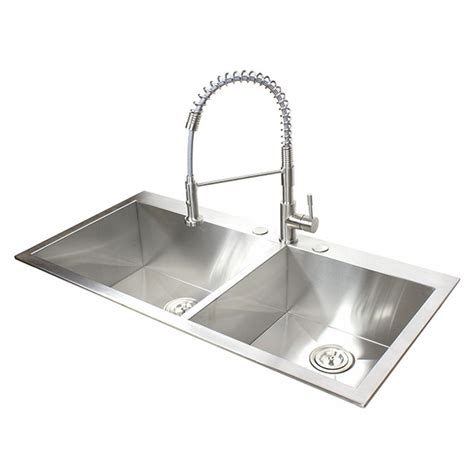 43 inch kitchen sink 43 inch top mount drop in stainless steel bowl