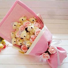 02461 Boneka Rilakuma Doll Boneka Rilakkuma Doll 30 Cm another style of flower bouquet for any occasion for my customers floral arrangement