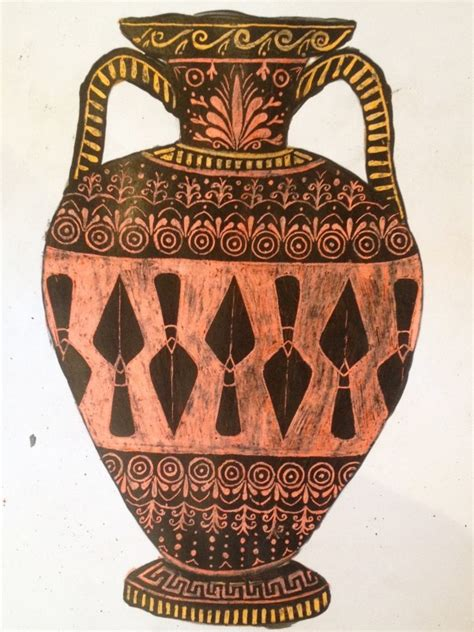 Ancient Vase Patterns by How To Make Your Own Scratch Vase Digventures