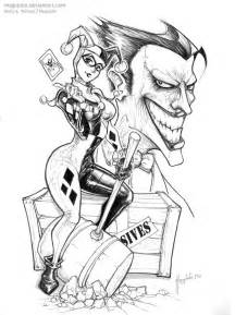 Harley Quinn Kiss Coloring Pages sketch template