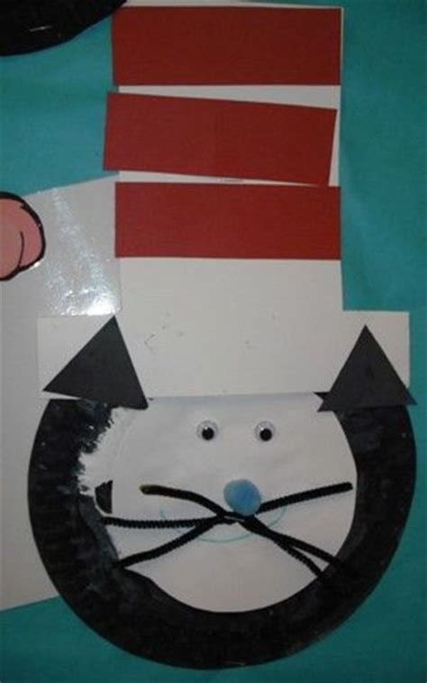 Cat In The Hat Paper Plate Craft - paper plate cat in the hat craft ideas juxtapost