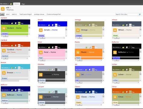image gallery sharepoint 2016 theme