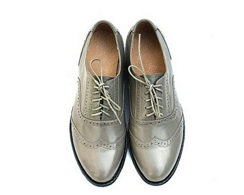10 color us size 5 10 vintage leather lace up dress oxford womens wingtip shoes ebay