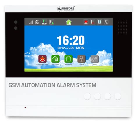 alarm trends gsm alarm system with home automation