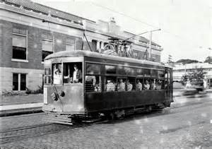 Electric Streetcar History Streetcar On 7th Ave Ta Changing