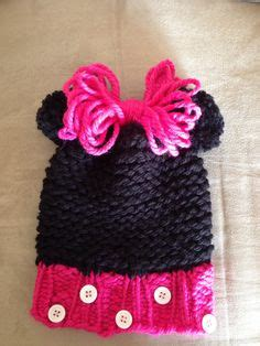 loom knit minnie mouse hat loom knit minnie mouse hat looming knitting crochet
