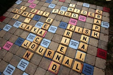 backyard scrabble pin by kristin on outside inspirations pinterest
