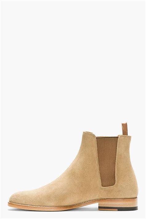 laurent mens chelsea boots laurent suede chelsea boots s accessories