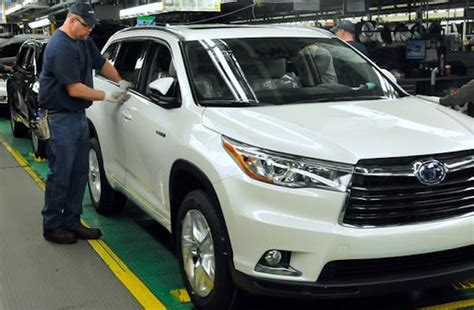 toyota manufacturing company march auto sales in like a lamb