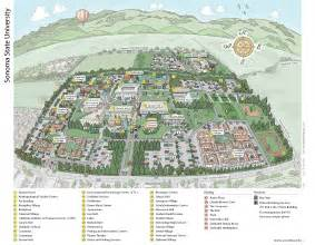 Sonoma State University Map by Conference Amp Events Services Campus Maps Sonoma State