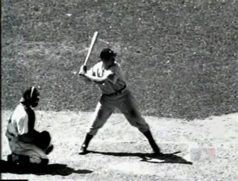 joe dimaggio swing looking back at great yankees swings of yore pinstripe alley