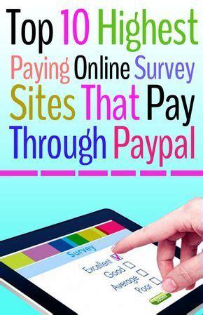 Top Survey Sites That Pay Cash - 25 best ideas about online survey on pinterest online