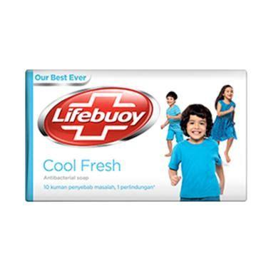 Sabun Batang Lifebuoy Lemonfresh 1 jual lifebuoy sabun batang cool fresh 75 g