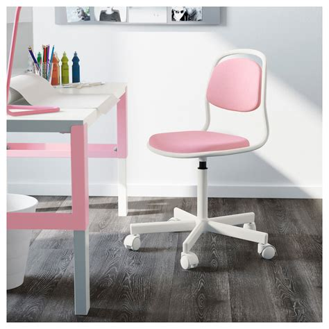 ikea kids desk chair 214 rfj 196 ll children s desk chair white vissle pink ikea