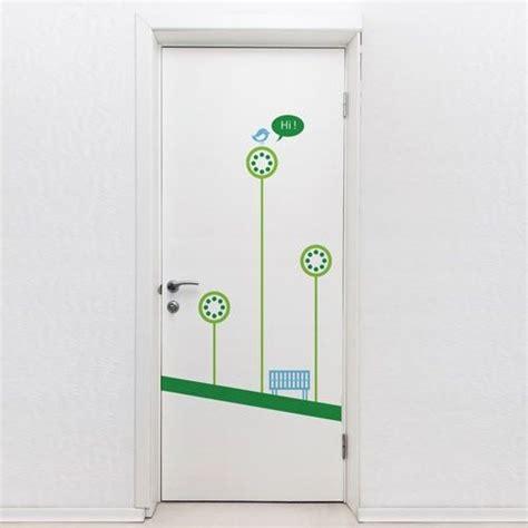 door stickers door decals removable garden door decal door decals