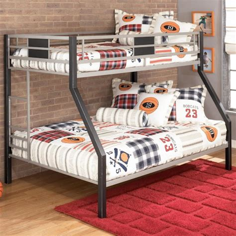 ashley furniture bunk beds signature design by ashley dinsmore twin over full metal