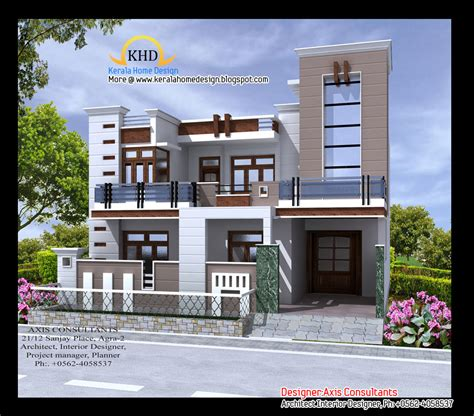 warm house design indian style plan and elevation house style design front elevation indian house designs houses pinterest
