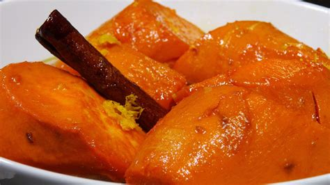 how to make candied yams learn to cook