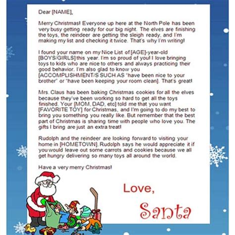 printable santa letters for adults how to create free printable santa letters